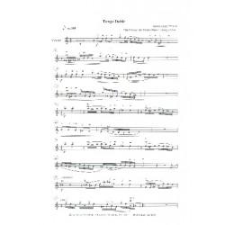 Jäger, Harry: Tango Doble : für Violine und Gitarren-Ensemble Violine