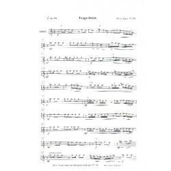 Jäger, Harry: Tango Doble : für Violine und Gitarren-Ensemble Gitarre 1