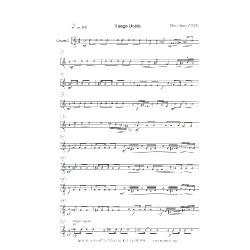 Jäger, Harry: Tango Doble : für Violine und Gitarren-Ensemble Gitarre 3