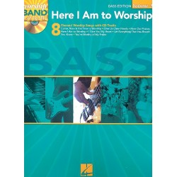 Here I am to worship (+CD) : Worship Band Playalong vol.2 bass edition (vocal/bass/tab)