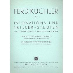 Küchler, Ferdinand: Intonations- und Triller-Studien op.13 : Eine Ergänzung zu jeder Violinenschule