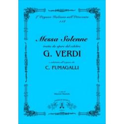 Fumagalli, Polibio: Messa solenne tratta da opere del celebre Giuseppe Verdi : per organo
