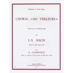 Bach, Johann Sebastian: Choral des veilleurs de la cantate BWV140 : pour orgue