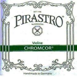 Pirastro Chromcor Violinsaiten SATZ 4/4 (E Schlinge) - mittel