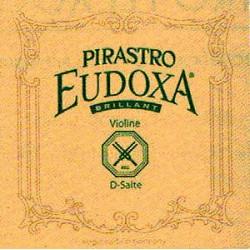 Pirastro Eudoxa BRILLIANT Violinsaite G 4/4 (Darm/Silber) - hart (16)