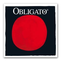 Pirastro Obligato Violinsaite 1/2-3/4 D (Synthetik/Silber) - mittel
