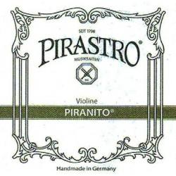 Pirastro Piranito Violinsaite D 1/8-1/4 (Stahl/Chrom) - mittel