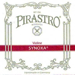 Pirastro Synoxa Violinsaiten SATZ 4/4 (E Schlinge) - mittel
