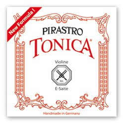 Pirastro Tonica Violinsaite G 4/4 (Kunstst./Silber) - weich