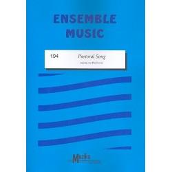 Beethoven, Ludwig van: Pastoral Song : für gem Ensemble Partitur und Stimmen