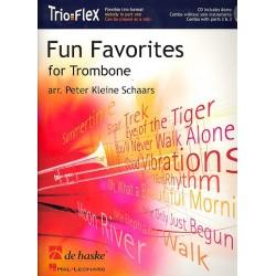 Fun Favorites for Trombone (+CD) : für 1-3 Posaunen Partitur und Stimmen