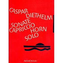 Diethelm, Caspar: Sonate op.127 und Capriccio op.131 : für Horn solo