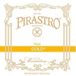 Pirastro Gold Violasaite D (Darm/Alu-Silber) - mittel