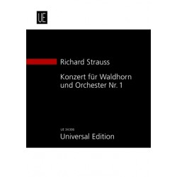 Strauss, Richard: Konzert Es-Dur Nr.1 op.11 : für Waldhorn und Orchester Studienpartitur