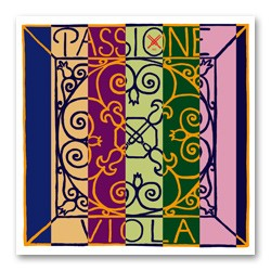 Pirastro Passione Violasaite D (Darm/Silber) - hart (14 1/4)