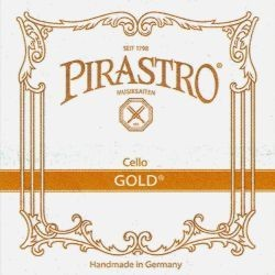 Pirastro Gold Cellosaite C 4/4 (Darm/Silber) - mittel