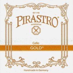 Pirastro Gold Cellosaiten SATZ 4/4 (Darm) - mittel