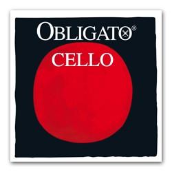 Pirastro Obligato Cellosaite D 4/4 (Chrom) - mittel