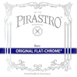 Pirastro Original Flat-Chrome Kontrabasssaite A 3/4 (Solo) - mittel