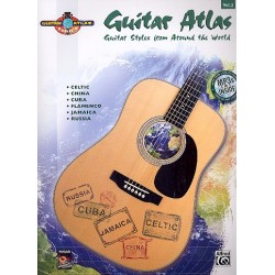 Guitar Atlas vol.2 (+MP3) : Guitar Styles from around the World