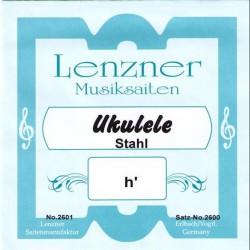 LENZNER Musiksaiten Ukulele Stahl (Sopran)