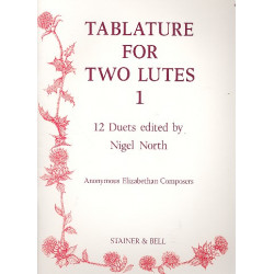 Tablature vol.1 for 2 lutes parts