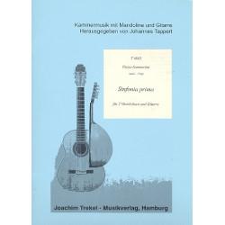 Sanmartini, Pietro: Sinfonie Nr. 1 : für 2 Mandolinen und Gitarre Partitur und Stimmen