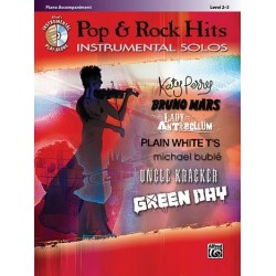 Pop and Rock Hits (+CD) : Piano Accompaniment