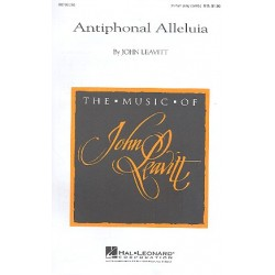 Leavitt, John: Antiphonal Alleluia for 2 part chorus and piano score