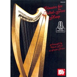 Classics for pedal-Free Harp (+Online Audio)