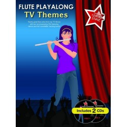 TV Themes (+2 CD's) : for flute