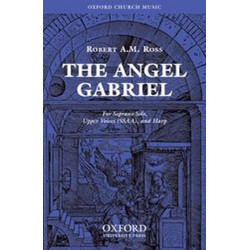 The Angel Gabriel : for soprano, female chorus and harp score