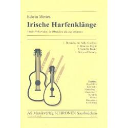Mertes, Edwin: Irische Harfenklänge : für Blockflöte und Zupforchester Partitur