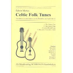 Mertes, Edwin: Celtic Folk Tunes : für Blockflöte und Zupforchester Partitur