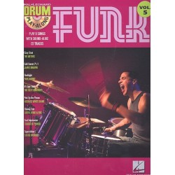 Funk (+CD) : Drum playalong vol.5