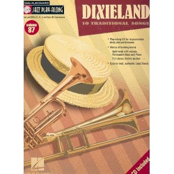 Jazz Playalong vol.87 (+CD) : Dixieland for C, B flat, e flat and bass clef instruments