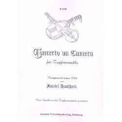 Huschert, Daniel: Concerto da Camera : für 2 Mandolinen, Mandola, Gitarre und Kontrabass Partitur