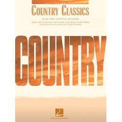 Country classics : 33 all-time favorites for easy piano and voice