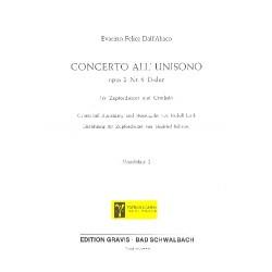 Dall'Abaco, Evaristo Felice: Concerto all unisono D-Dur op.2,6 : für Cembalo und Zupforchester Mandoline 2