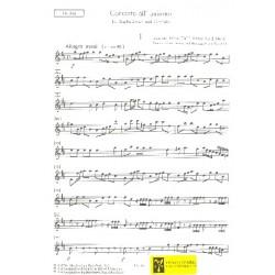 Dall'Abaco, Evaristo Felice: Concerto all unisono D-Dur op.2,6 : für Cembalo und Zupforchester Mandola