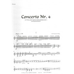 Näslund, Olof: Konzert Nr.4 für Flöte (Melodieinstrument) und Zupforchester Gitarre