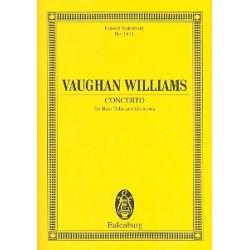 Vaughan Williams, Ralph: Konzert : für Tuba und Orchester Studienpartitur