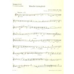 Dubois, Francois Clement Th├®odore: Marche triomphale : f├╝r Orgel und Blechbl├ñser (Posaunenchor) Trompete 2 in B