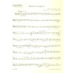 Dubois, Francois Clement Th├®odore: Marche triomphale : f├╝r Orgel und Blechbl├ñser (Posaunenchor) Posaune 2 in C