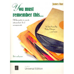 You must remember this : für Flöte und Klavier
