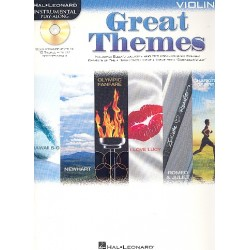 Great Themes (+CD) : for violin