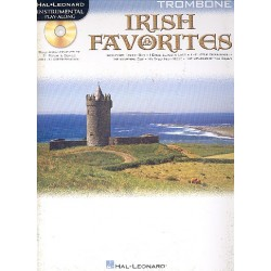 Irish Favorites (+CD) : for trombone