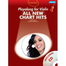 All new Chart Hits (+CD) : for violin