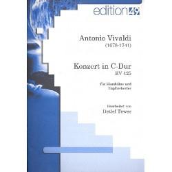 Vivaldi, Antonio: Konzert C-Dur RV425 für Mandoline und Zupforchester Partitur