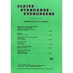Oldies Standards Evergreens Band 39: für Klavier und Combo Klavierpartitur und Stimmensatz